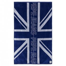 Flag print towel by Pepe Jeans London