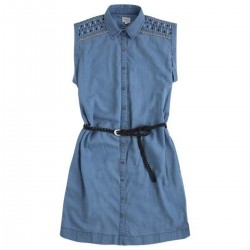 Embroidered minin dress by Pepe Jeans London