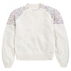 Beads detail sweater by Pepe Jeans London
