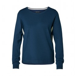 Knitted jumper with contrasting stripes by Marc O'Polo
