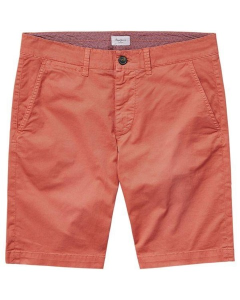 Baumwoll-Twill Bermuda by Pepe Jeans London