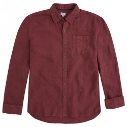 Long sleeved linen shirt by Pepe Jeans London