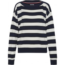 Pull rayé à col bateau by Tommy Jeans