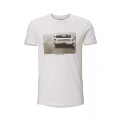 T-Shirt mit recycelter Baumwolle by Marc O'Polo