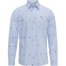 Fruit print cotton shirt by Tommy Jeans