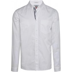 Cotton twill regular fit shirt by Tommy Jeans