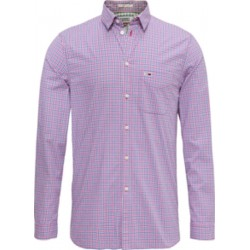 Essential check slim fit shirt by Tommy Jeans