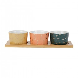 Bowl set (30x10x5cm) by SEMA Design
