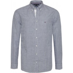 Gingham check cotton shirt by Tommy Hilfiger