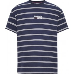 Gestreiftes Logo-T-Shirt by Tommy Jeans