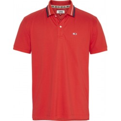 Tommy Classics Poloshirt mit Logo-Kragen by Tommy Jeans