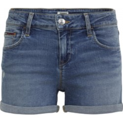 Classic Jeans-Shorts im Used Look by Tommy Jeans