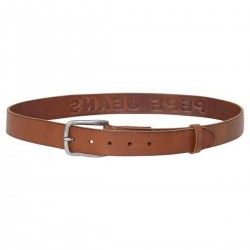 Leather slim belt by Pepe Jeans London