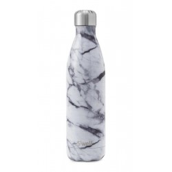 Trinkflasche White Marble (25oz) by Swell