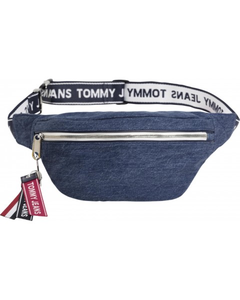 Logo tape bumbag by Tommy Jeans
