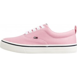 Cotton lace-up trainers by Tommy Jeans