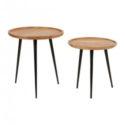 Side tables (Size S: 42cm, Size M: 48cm) by SEMA Design