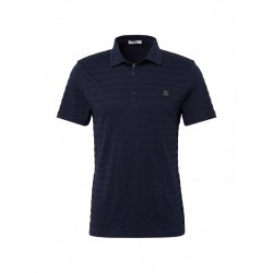 Poloshirt mit Strukturmuster by Tom Tailor