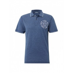 Strukturiertes Poloshirt by Tom Tailor