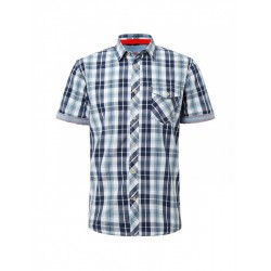 Short sleeve check shirt by Tom Tailor
