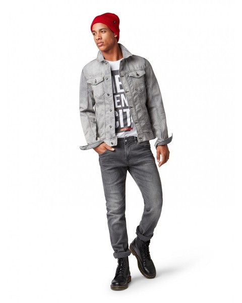 exclusive deals hot sale 50% price AEDAN straight Jeans by Tom Tailor Denim - gray - 28/32 ...