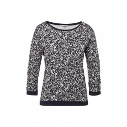 Jumper with a floral pattern by Tom Tailor Denim