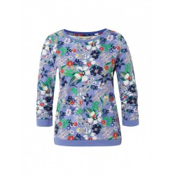 Sweatshirt mit Blumenmuster by Tom Tailor Denim