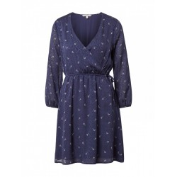 Dress with a floral pattern by Tom Tailor Denim