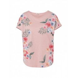 T-Shirt mit Blumenmuster by Tom Tailor