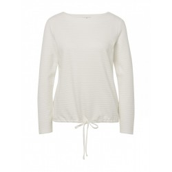 Sweatshirt mit Strukturmuster by Tom Tailor