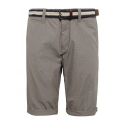 vollständig in den Spezifikationen neu kommen an attraktiver Preis Jim slim bermuda shorts with a belt by Tom Tailor - gray - 29 - EAN:  4060586676835