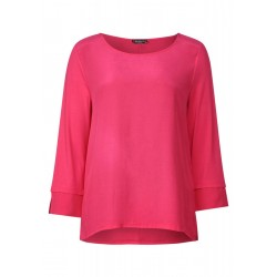 Shirt mit Materialmix by Street One
