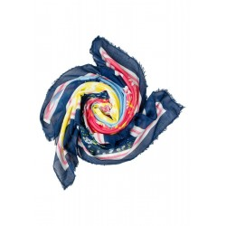 Floral Patchwork Square Scarf by Street One
