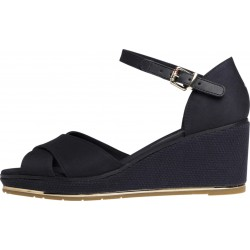 Open toe wedge sandals by Tommy Hilfiger