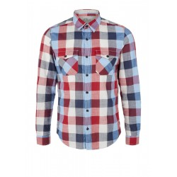 Slim Fit: Check shirt by s.Oliver Red Label