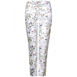 Floral print pants New York by Cecil