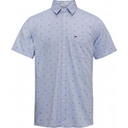 Micro pattern short sleeve shirt by Tommy Jeans