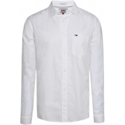 Cotton linen blend shirt by Tommy Jeans
