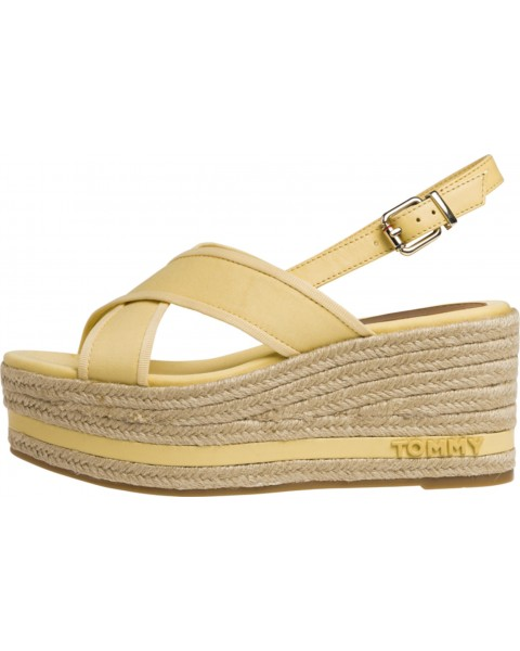 Logo flatform sandals by Tommy Hilfiger