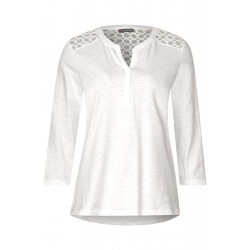 Shirt with lace details by Street One