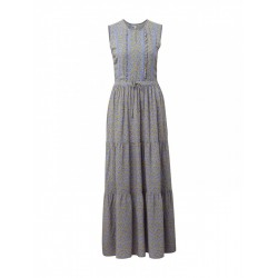 Dress with a drawstring panel and ties at the waist by Tom Tailor Denim
