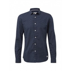 Shirt with an all-over pattern by Tom Tailor Denim