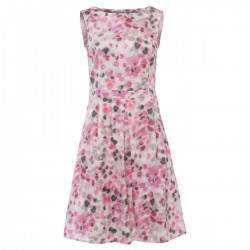 Aquarel Dot Dress by More & More
