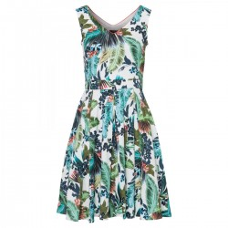 Tropical Print Dress Active by More & More