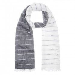 Striped scarf by More & More