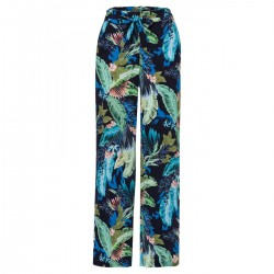 Hose weite Printhose by More & More
