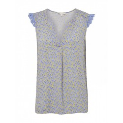 Top with an all-over floral pattern by Tom Tailor Denim