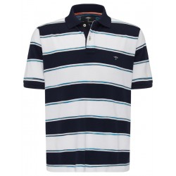 Polo with striped pattern by Fynch Hatton