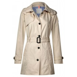 Trench coat with belt by Street One