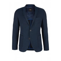 Slim: textured sports jacket by s.Oliver Black Label